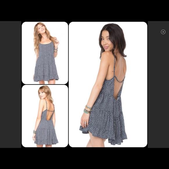 Brandy Melville Dresses & Skirts - Floral ruffle dress